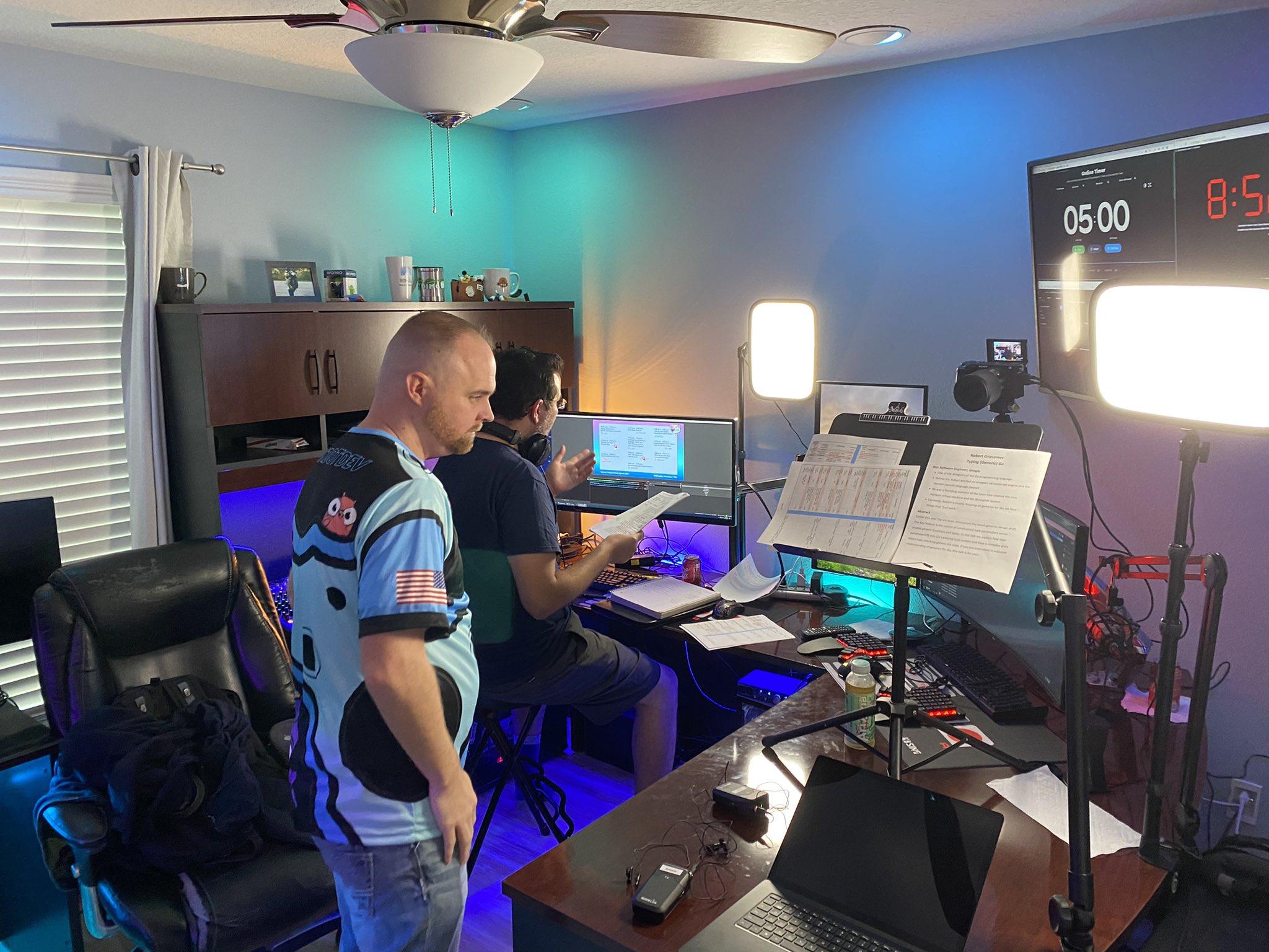 GopherCon 2020 直播指挥中心